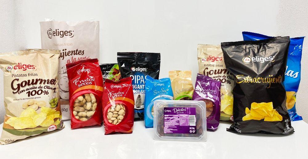 Snacks y frutos secos